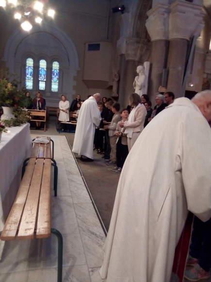 communion jeudi saint paroisse ste anne de lizeron 42 loire