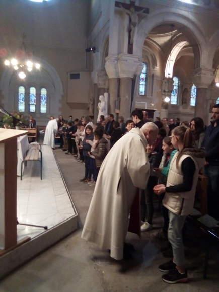 jeudi saint communions paroisse ste anne de lizeron