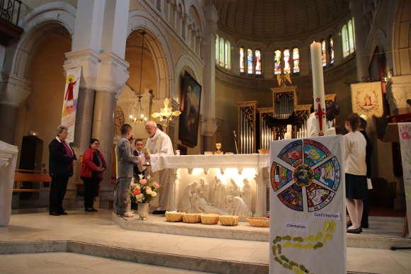 communion 5mai2019 st genest lerpt paroisse ste anne de lizeron 42 loire