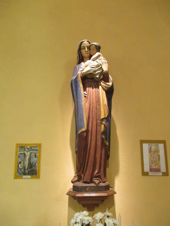 vierge a l'enfant cote durieux statues