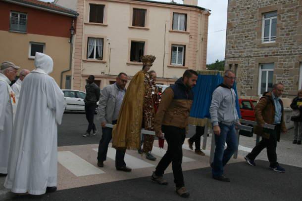 fin procession