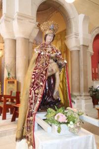 1vierge ND de Pitié Eglise de St genest Lerpt 42 Loire Ste Anne de Lizeron