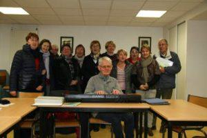 Groupe chorale St genest décembre 2016