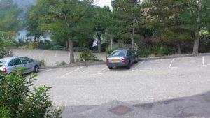 Parking des salles de st victore sur loire