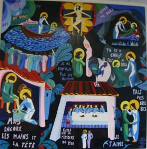 fresque semaine sainte