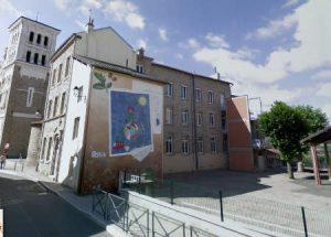 cours de l'école Notre Dame de St genest Lerpt enseignement privé ste anne 42 loire