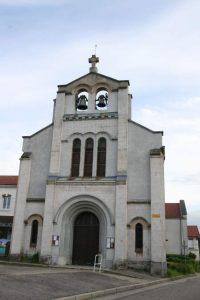 photo de l'Eglise St Joseph de Beaulieu, quartier des mineurs franco polonais