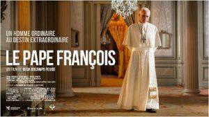 affiche du film dvd sur le Pape François