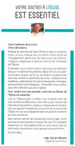 message Eveque pour denier 2017 001