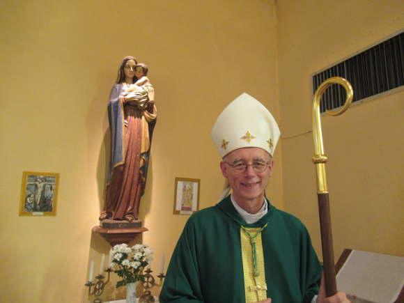 Mgr Sylvain Bataille eglise de la Cote Durieux exécration2019