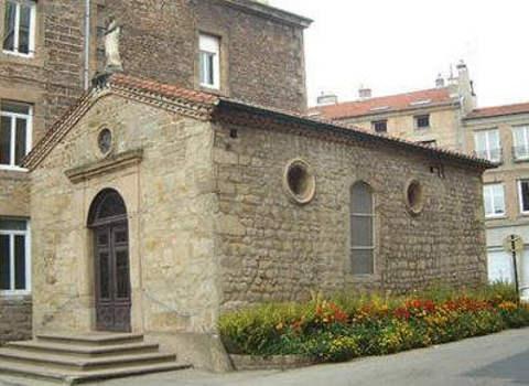 Chapelle Notre Dame de Pitié à St gesnest Lerpt